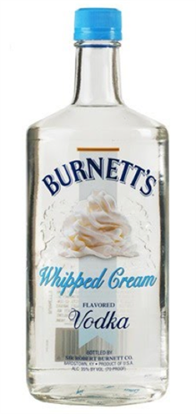 Burnetts Vodka Whipped Cream